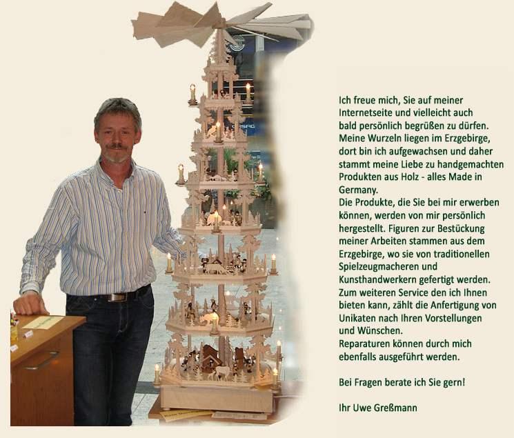 Erzgebirge-Holzkunst Greßmann